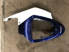 Suzuki GSXR 1000 OEM SEAT TAIL CENTER RIGHT fairing BLUE WHITE GSXR1000 05 06