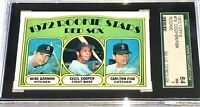 1972 Topps Carlton Fisk RC SGC 84 = PSA 7 Chicago White Sox Boston Red ROOKIE !!
