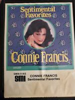 8 Track Tape Connie Francis Sentimental Favorites 1984 SMI8-51AS VG+ Tested