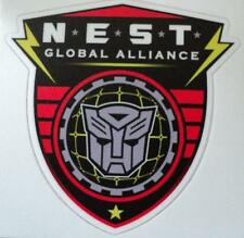 Transformers Autobot N.E.S.T Global Alliance sticker
