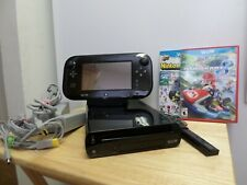 Nintendo Wii U System Console + Gamepad and all cords Mario Kart 8, Nintendoland