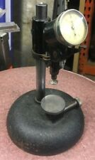 Rare L.S. Starrett 458 Dial Bench Gage Dial Indicator Comparator Machinist Tool
