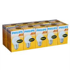 10 x Philips Glühbirne Tropfen 60W E27 MATT Glühlampe 60 Watt Glühbirnen Birnen
