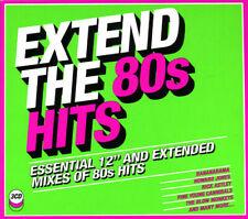 "EXTEND THE 80S HITS 2018 3CD 30 x 12"" Mixes!"