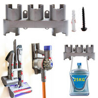 9PCS For Dyson V7 V8 Wall Mount Accessory Tools Attachment Storage Rack Holder