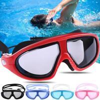 Adjustable Swimming Goggles Anti-fog Swim UV Glasses Adjustable Kids Adults New