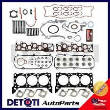Fits: 01-04 Ford 4.2L V6 VIN Code 2 Multi-layered Full Head Gasket Set & Bolts