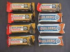 (8) Clif Bar Builders Protein Bar Chocolate Peanut Butter 2.4 Oz Each @5