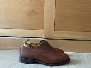 Trickers Mens Henley Oxford Toecap Shoes Brown Leather UK 8.5