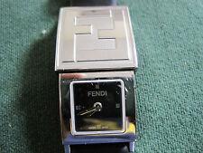 #584 ladys stainlessteel FENDI (slide) watch