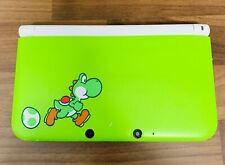 Nintendo 3DS XL Lime Green Special Edition Yoshi Handheld System Bundle