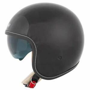 Spada Raze Gloss Black Open Face Motorcycle Motorbike Helmet