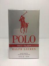 POLO RED RUSH BY RLAPH LAUREN MEN COLOGNE EDT SPRAY 4.2 OZ / 125 ML NEW IN BOX