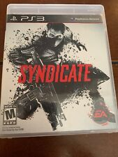 Syndicate (Sony PlayStation 3, 2012) PS3 - Tested And Working!!