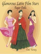 Glamorous Latin Film Stars Paper Dolls (Dover Celebrity Paper Dolls)