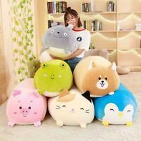 Squishy Chubby Cute Animal Plush Toy Soft Cartoon Pillow Gift Cushion Pink O6F6