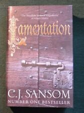 C.J. Sansom, Lamentation. UNREAD, SIGNED LTD Edition Hbk