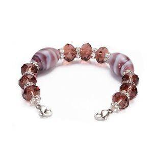 CLEARANCE! Medical ID Fuchsia Bead Interchangeable Bracelet Strand - 3 Sizes