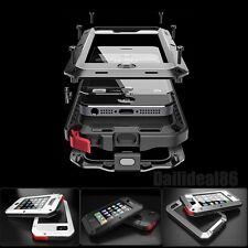 Gorilla verre Aluminium métal housse étui coque étanche Antichoc pr iPhone 7 6S+