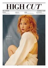 HIGH CUT Vol.193 TAEYEON SNSD GOT7 Jinyoung Korean Magazine