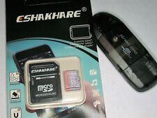 SD Karte mit Adapter  32GB micro SD Karte mit Adapter und Kartenleser CSHAKHARE