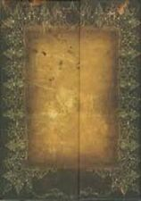 """Antique Look Lined Journal Magnetic Flap Piccadilly 8 3/4""""x6 1/2"""" Hardcover NEW!"""
