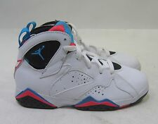 "air jordan 7 retro (ps) · ""orion 304773 105 white/orion-blue infrared Size. 1 Y"