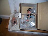 1994 Little Bird by FayZah Spanos Danbury Mint 12 inch Porcelain Doll