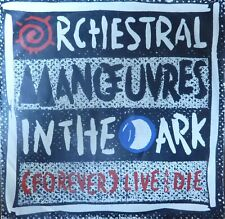 "OMD Orchestral Manouvres in the Dark - (Forever) Live and Die (single 7"")"
