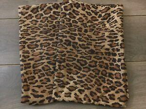 Ralph Lauren ARAGON LEOPARD Set - (2)  Standard Pillowcases ~ Rare COTTON SATEEN