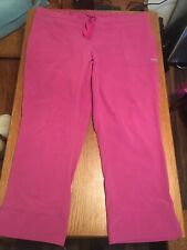 Grey's Anatomy Active Nursing Scrub Pants Women Size 4Xl