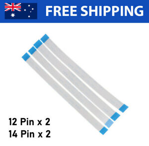 Set of 4 (x2 of each) - Flex Ribbon Cables 12 14 Pin Replacement PS4 Controllers
