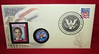 2009 Barack Obama Inauguration Commemorative Coin Cover