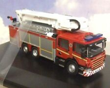 OXFORD DCAST 1/76 SCANIA AERIAL RESCUE ENGINE MERSEYSIDE/LIVERPOOL FIRE & RESCUE