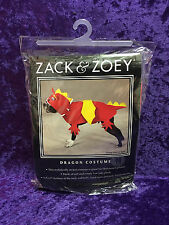 Zack & Zoey Dragon Dog Costume M Halloween