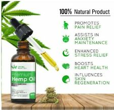 HEMP OIL 30ML HIGH STRENGTH DROPS FOR PAIN, STRESS INSOMNIA MUSCLES ANXIETY