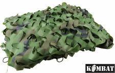 Kids Army Boys Woodland Camo Net Camouflage Soldier Play Den Camp Tent Netting