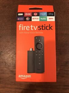 AMAZON FIRE TV STICK BRAND NEW with Alexa Voice Remote 2nd Generation Streaming
