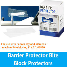 """Panoramic Bite Block Covers for pano x-ray and Siemens 1""""W X 2""""L 1000/Box #1850"""