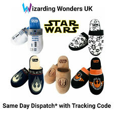 Official Star Wars Mule Slippers Mens Womens R2D2 Jedi Stormtrooper Gift