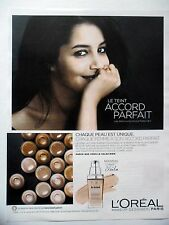 PUBLICITE-ADVERTISING :  L'OREAL Accord Parfait  2014 Leila Bekhti