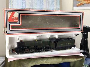 Lima OO Class Locomotive rn '6000' King George V 205103 MWG Green VG GWR 4-6-0