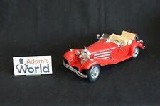 Bburago Mercedes-Benz 500 K Cabriolet 1936 1:18 red (JS)