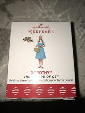 "Hallmark Keepsake Ornament 2017 Limited Edition Wizard Of Oz ""Dorothy�"