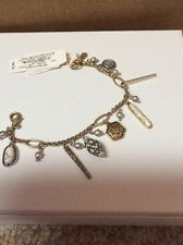 Lucky Brand Jewelry JLRY7616 Dual-tone Pebble Charm Bangle Bracelet A14 115 $45