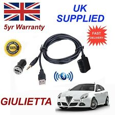 For Alfa Romeo Giulietta Bluetooth Music Streaming Module & 1.0A Power Adapter