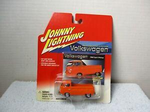 JOHNNY LIGHTNING ORANGE 1965 VW VOLKSWAGEN 1965 TYPE 2 PICKUP