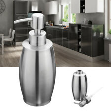 Stainless Steel Soap Dispenser Lotion Liquid Shampoo Gel Container For
