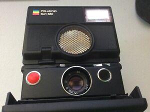 Polaroid SLR 680 AutoFocus Instant Camera- Untested Ships Free!
