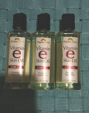 Personal Care Vitamin E Skin Oil 1500 I.U. 4oz each (3 packs) free shipping